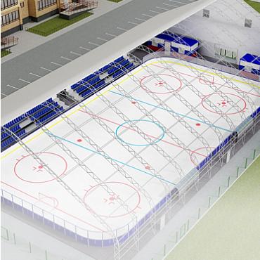 Проектирование ледовых катков