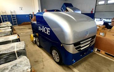 Ледозаливочный комбайн для катков до 800 м² n-ICE M800 Electric