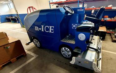Ледозаливочный комбайн для катков до 800 м² n-ICE M800 (бензин/газ)
