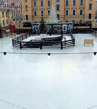Аренда ледового катка 800 м²