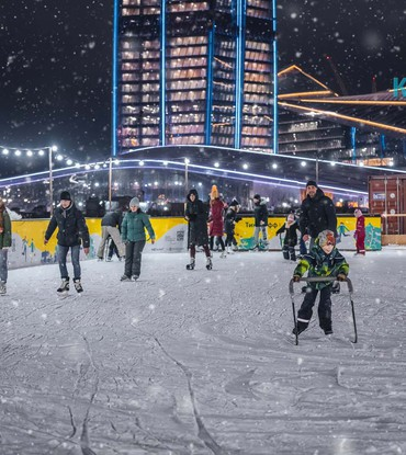 Аренда ледового катка 1800 м²